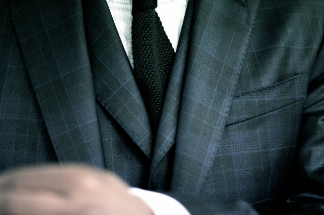 Roberto Revilla and Dormeuil combine to make a truly indulgent suit with lots of personality.